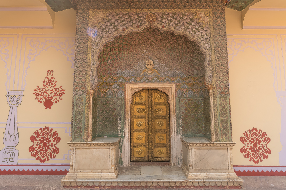 Inside the City Palace, Jaipur