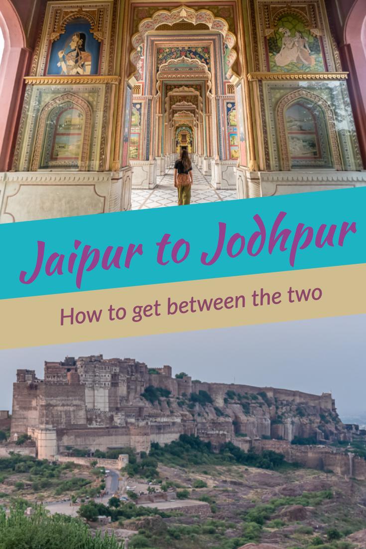Jaipur to Jodhpur pin