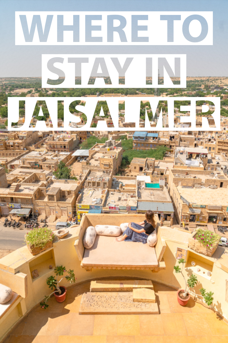 Where to stay in Jaisalmer pin