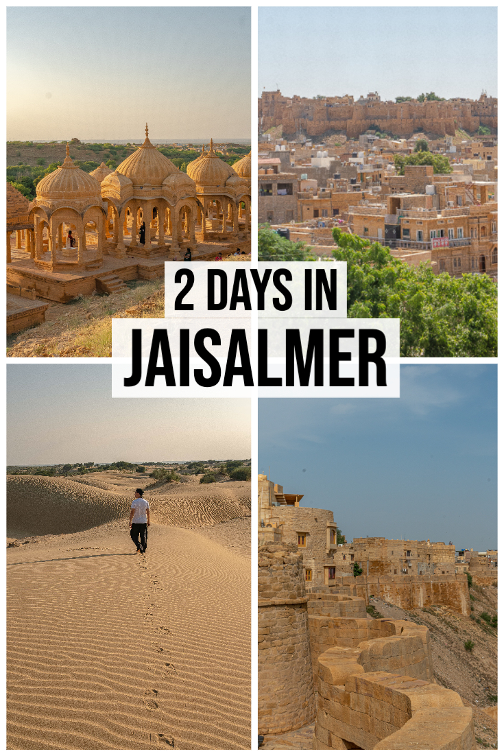 2 Days in Jaisalmer Itinerary pin