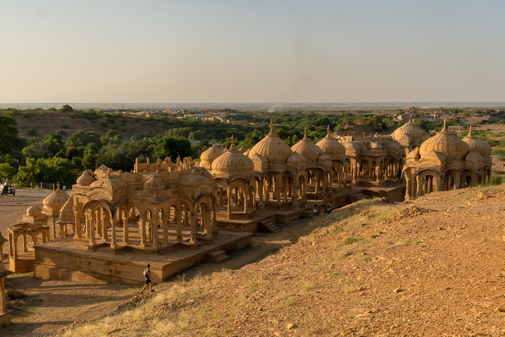 Bada Bagh Cenotaphs - one of the best places to visit in Jaisalmer in 2 days