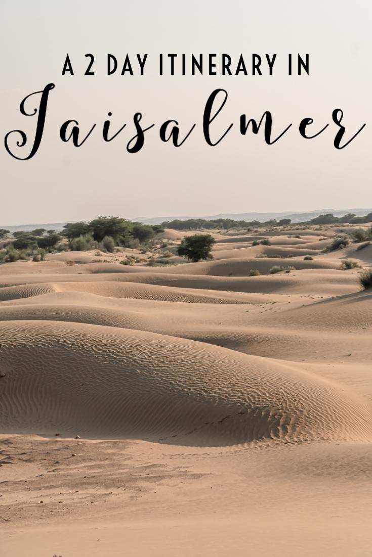 Jaisalmer Itinerary pin